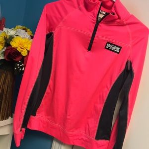 Neon PINK Yoga Pullover Sweater